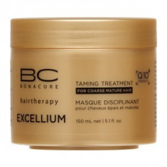 Schwarzkopf Professional BC Bonacure Excellium Taming Treatment masca pentru păr aspru 150 ml