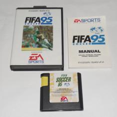 Joc SEGA Megadrive - Fifa Soccer 95 - complet la cutie - Jocuri Sega, Sporturi, 3+, Single player