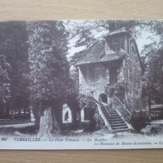 Carte postala necirculata Franta anii'20 Versailles - le Moulin, Printata