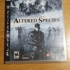 PS3 Vampire rain Altered species - joc original by WADDER - Jocuri PS3 Altele, Actiune, 16+, Single player