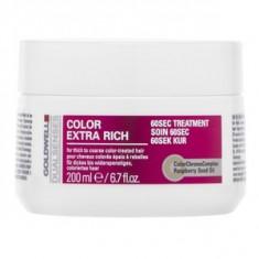 Goldwell Dualsenses Color Extra Rich 60sec Treatment masca pentru păr vopsit 200 ml
