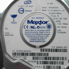 Hard Disk HDD 40GB Maxtor DiamondMax Plus 8 ATA IDE, 40-99 GB, Rotatii: 5400, 2 MB