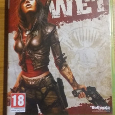 Joc XBOX 360 Wet original PAL / by WADDER - Jocuri Xbox 360, Shooting, 18+, Single player