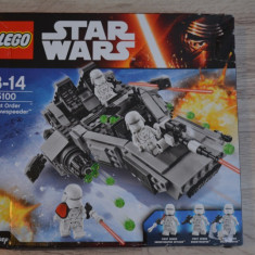 Lego Star Wars Ordinul Intai 75100, 10-14 ani