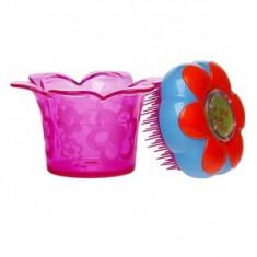 Tangle Teezer Magic Flowerpot perie de par pentru copii Popping Purple