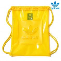 Saculet Adidas Originals GYMSACK AC EQT YELOW, Nou cu Etichete !