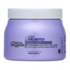 L´Oréal Professionnel Série Expert Liss Unlimited Mask masca pentru păr indisciplinat 500 ml - Masca de par