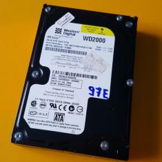 97E.HDD Hard Disk Desktop,200Gb,Western Digital,8Mb,Sata I