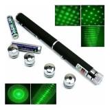 Laser verde cu 5 capete - 1000 mW - Laser lumini club