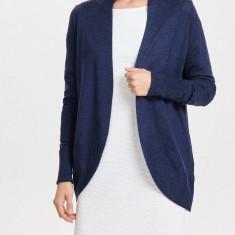 Cardigan fin premium - Only - art. 15121983 bleumarin melange - Pulover dama Only, Marime: 36, 38, 40, Culoare: Albastru