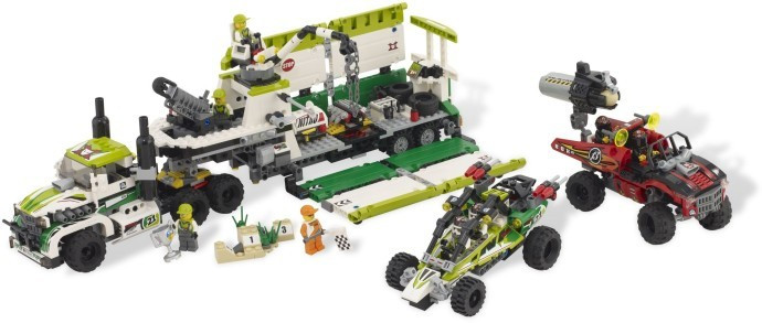 LEGO 8864 Desert of Destruction foto mare