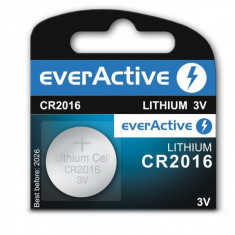 Baterie cu Litiu CR2016 EverActive