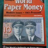 v- Catalog bancnote Krause, World paper money 1961-prezent, ed. 15, CD inclus!