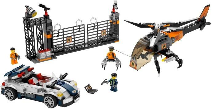 LEGO 8634 Turbocar Chase foto mare