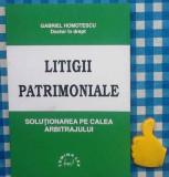 Litigii patrimoniale Gabriel Homotescu
