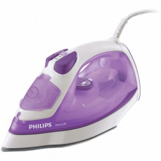 Fier de calcat Philips PowerLife, putere 2200 W, capacitate 0.3 l, 300 ml, SteamGlide