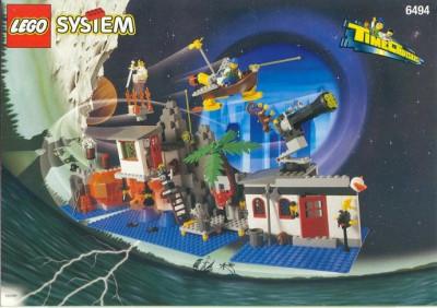 LEGO 6494 Magic Mountain Time Lab foto