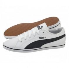PUMA Elsu v2 SL Puma White-Puma Black COD 359942-09 - Papuci barbati Puma, Marime: 40, 40.5, 41, 42.5, 43, 44, Culoare: Alb