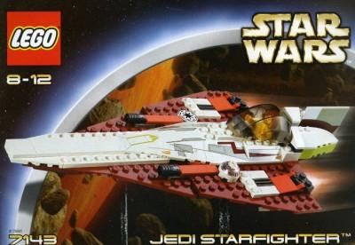 LEGO 7143 Jedi Starfighter foto