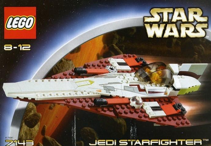 LEGO 7143 Jedi Starfighter foto mare