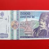 ROMANIA - 5.000 lei 1992 - Bancnota romaneasca