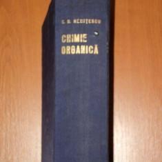 CHIMIE ORGANICA VOL.II de COSTIN D. NENITESCU 1968 - Carte Chimie