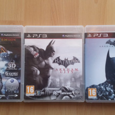 Batman: Arkham collection PS3 - Jocuri PS3 Eidos