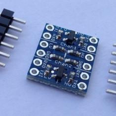 Translator tensiune (2 canale) 5V-3.3V / I2C converter bi-directional