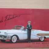 "Carte postala necirculata SUA anii '60_Buick""Wells Fargo""/Dale Robertson_masini, Irlanda, Printata"