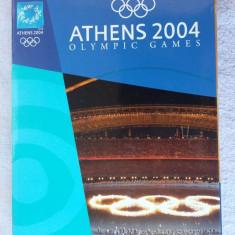 JOCURILE OLIMPICE DE LA ATENA 2004 . SET 4 DVD -URI . - DVD fotbal