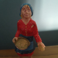 Figurina taranca, cauciuc, 8.5cm, BULLYLAND Germany handpainted (pictata manual)