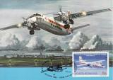 5174 - Carte maxima Romania 1983 - aviatie