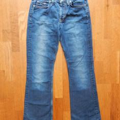 Blugi Tommy Hilfiger Denim Neo Flare Vintage Blue; W28/L30, vezi dim.; ca noi - Blugi barbati, Culoare: Din imagine