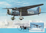5178 - Carte maxima Romania 1983 - aviatie