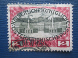 TIMBRE AUSTRIA SET STAMPILAT=1908