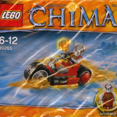 LEGO 30265 Worriz' Fire Bike - LEGO Legends of Chima