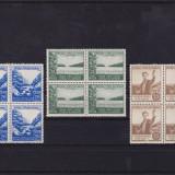 ROMANIA 1953, LP 348, LUNA PADURII, BLOC DE 4 MNH - Timbre Romania, Nestampilat
