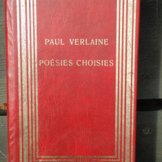 POESIES CHOISIES - PAUL VERLAINE