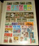 Clasor cu 479 timbre straine nestampilate + 13 colite + 3 minicoli