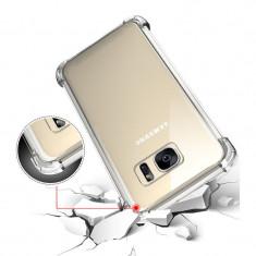 Husa Samsung Galaxy S7 Edge TPU Crashproof Transparenta - Husa Telefon Samsung, Gel TPU, Fara snur, Carcasa