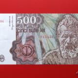 ROMANIA - 500 Lei aprilie 1991 - Bancnota romaneasca