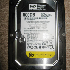 Hard Disk Western Digital WD RE4 500GB SATA- 7200 RPM 64MB, 500-999 GB