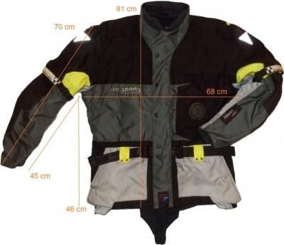 Geaca moto HEIN GERICKE Pro Sports, full protectii (XL spre 2XL) cod-173440 foto