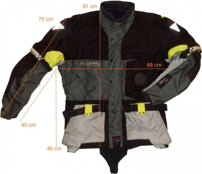 Geaca moto HEIN GERICKE Pro Sports, full protectii (XL spre 2XL) cod-173440 foto mare