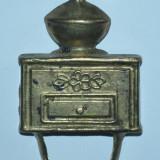 Cuier de mici dimensiuni, in forma de rasnita cafea - rustic - Rasnita manuala