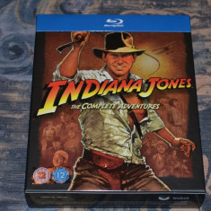 Film - Indiana Jones: The Complete Adventures [4 Filme - 5 Discuri Blu-Ray], UK - Film Colectie paramount, Engleza