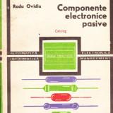 Radu Ovidiu - Componente electronice pasive.Catalog - 36256