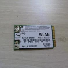 Placa wireless Dell Latitude D630 Produs functional Poze reale 0191DA