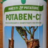 POTABEN mastic pe baza de apa pentru altoire cicatrizant 5 kg altoit ITALIA