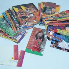 Colectie cartonase Basket NBA JAM SESSION 1995 - 109 bucati - Cartonas de colectie